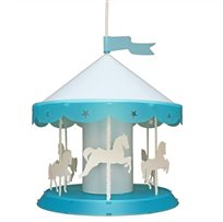 CAROUSEL Ceiling Light TURQUOISE
