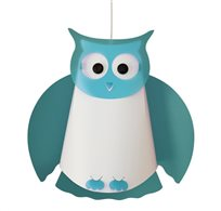 OWL ceiling light TURQUOISE