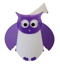 OWL wall lamp PURPLE