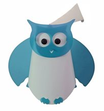OWL wall lamp TURQUOISE