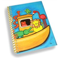 Notebook Imagination for kids - NOAH'S ARK