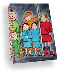 Notebook Imagination for kids - THE SUBWAY