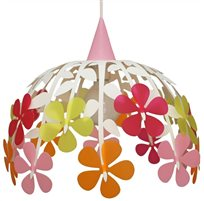 FLOWER BUNCH ceiling light IVORY AND MULTICOLOR