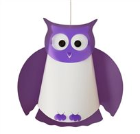 OWL ceiling light PURPLE