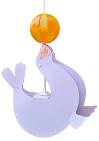 SEA-LION ceiling light LILAC and ORANGE Balloon