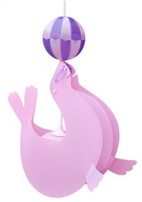 SEA-LION ceiling light PINK and PURPLE Balloon