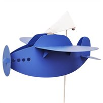 PLANE wall lamp BLUE