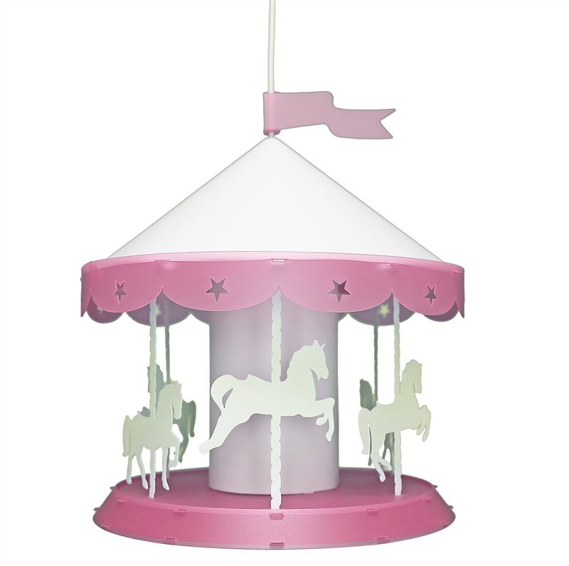 CAROUSEL Ceiling Light Pink