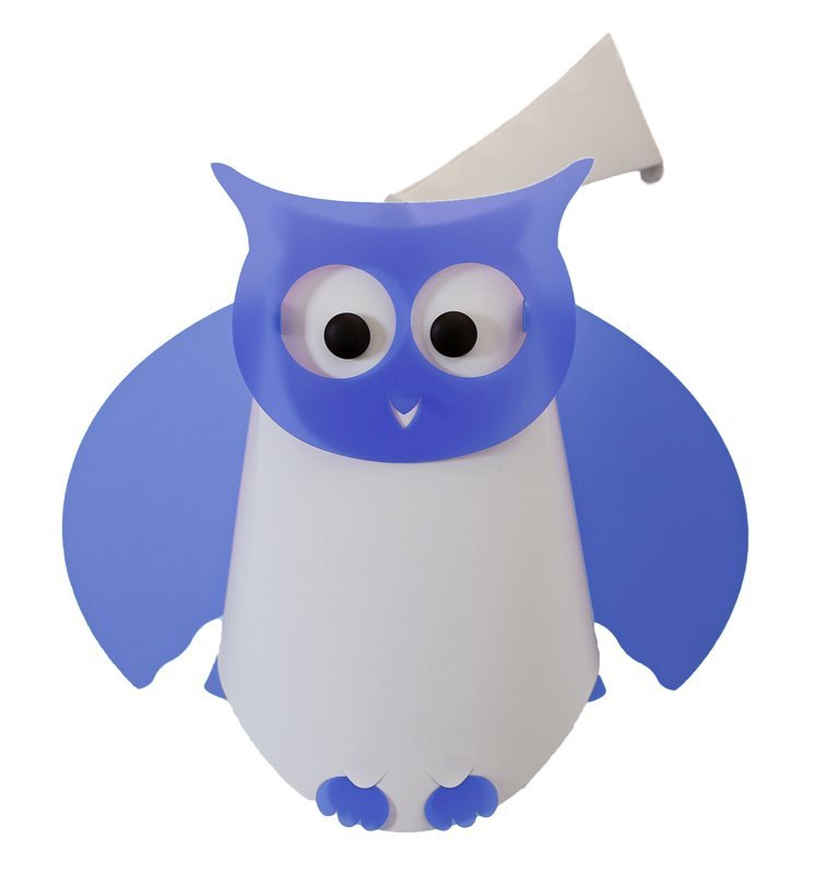 OWL wall lamp BLUE