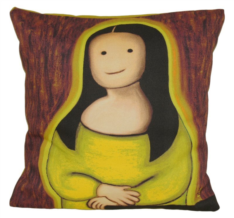 LIME LITTLE MONA CUSHION