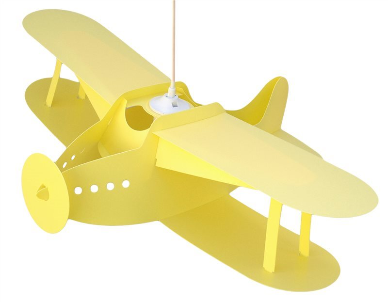 AIRPLANE ceiling light YELLOW