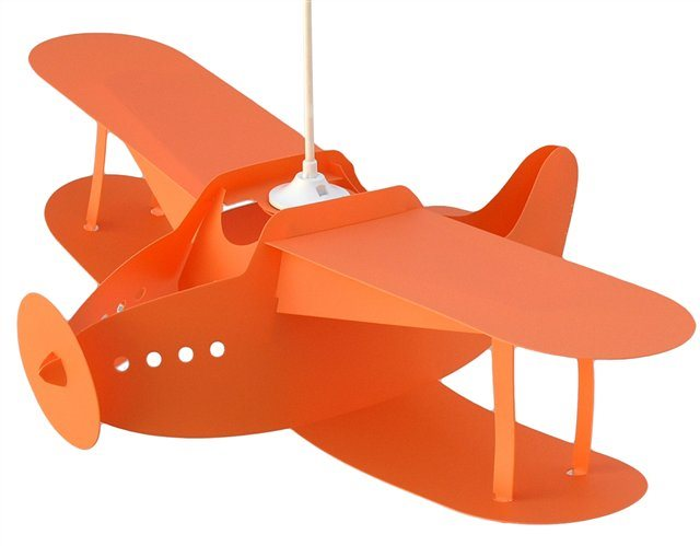 AIRPLANE ceiling light ORANGE