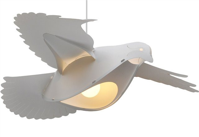 DOVE ceiling light WHITE